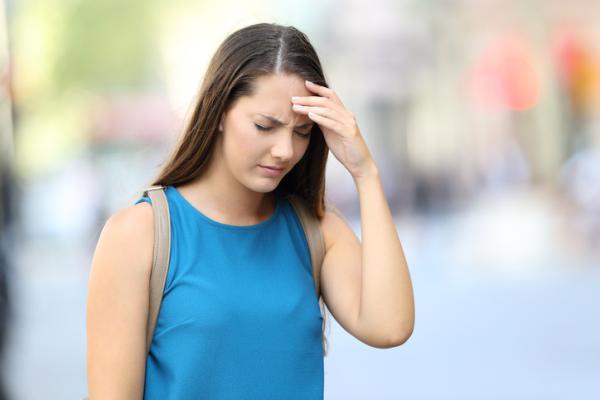 ¿Por qué siento mi cabeza pesada?