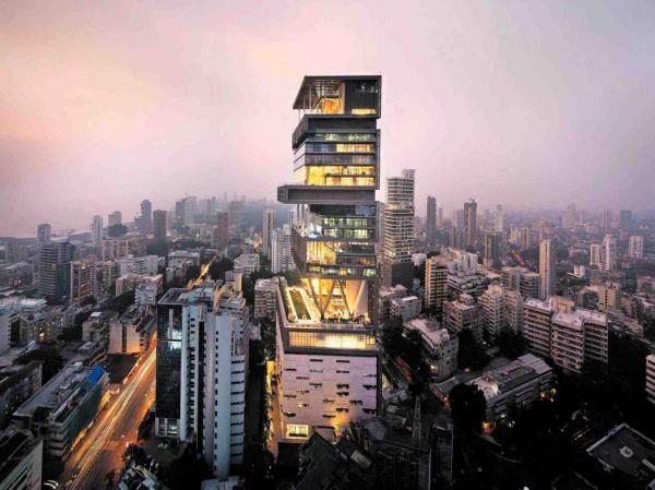 Las casas más caras del mundo - Antilia – Mumbai, India