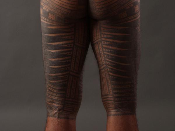 Tatuajes samoanos y sus significados - Tatuaje samoano Pe'a