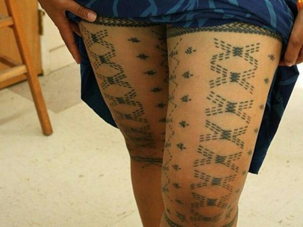 Tatuajes samoanos y sus significados - Tatuaje Samoano Malú