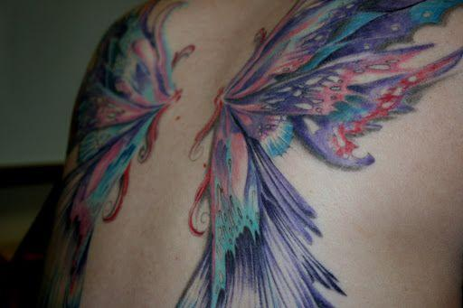 Significado de los tatuajes de alas - Qué significan las alas de hada