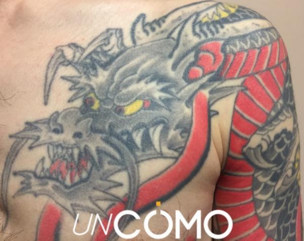 Significado de los tatuajes japoneses - Significado de los tatuajes japoneses de dragones