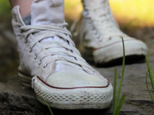 Cómo limpiar zapatillas blancas - Cómo limpiar zapatillas blancas de lona