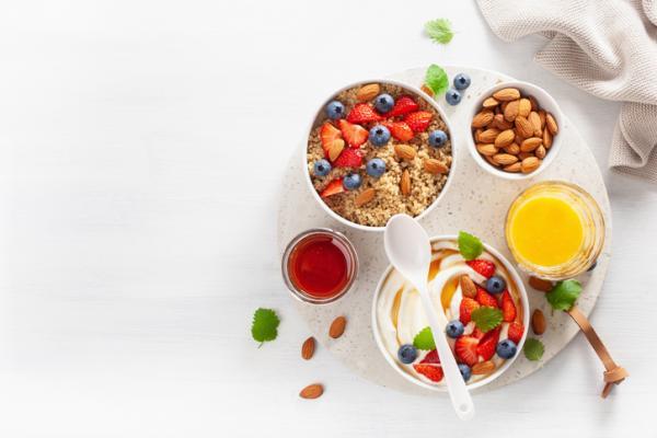 Cómo preparar quinoa para el desayuno - Porridge de quinoa para desayunar