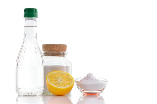 Cómo limpiar una plancha quemada - Bicarbonato de sodio y vinagre