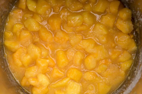 Cómo hacer mermelada de durazno sin azúcar - Paso 3