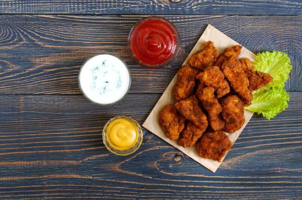 Cómo hacer palomitas de pollo - Paso 6
