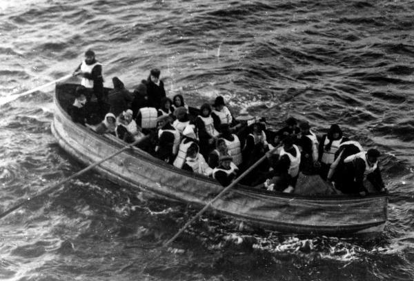 Dónde se hundió el Titanic - El rescate del Titanic