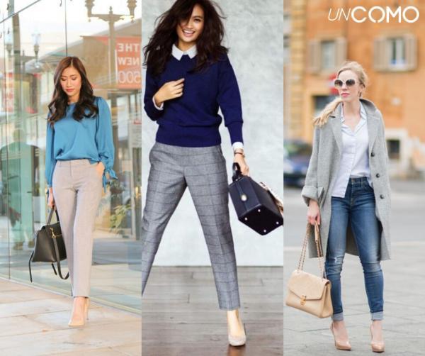 Colores que combinan con el azul - Azul y gris - Elegancia máxima