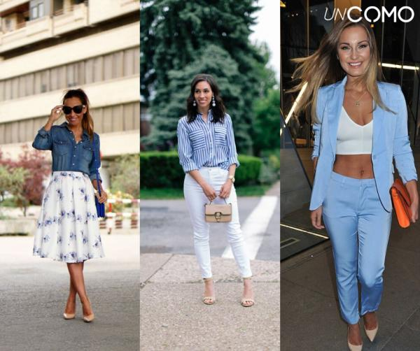 Colores que combinan con el azul - Cómo combinar azul y blanco - ¡apuesta segura!