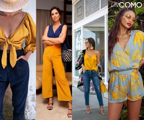 Colores que combinan con el azul - Combinar color azul con amarillo - ¡Atrévete!