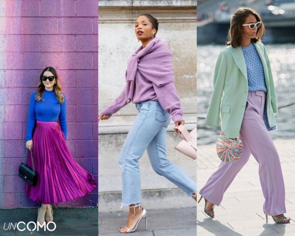 Colores que combinan con el azul - Cómo combinar color azul con lila - ¡ve a la última!