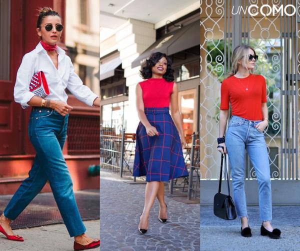 Colores que combinan con el azul - Combinar azul y rojo - ¿Es una buena idea?