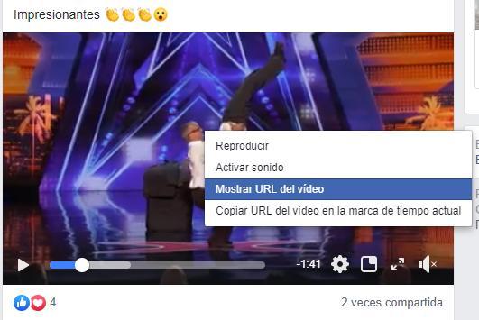 Cómo descargar vídeos de Facebook sin programas - Cómo obtener la URL del vídeo de Facebook que quiero descargar