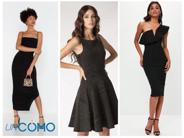 Colores de vestidos para morenas - Vestidos de color negro