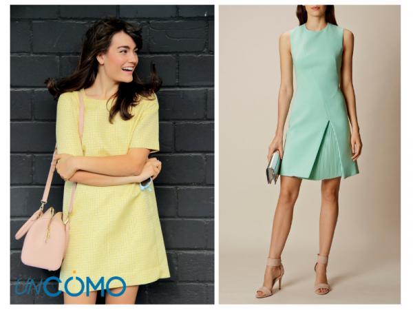 Colores de vestidos para morenas - Vestidos en tonos pastel