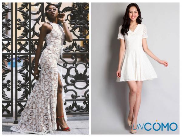 Colores de vestidos para morenas - Vestidos de color blanco