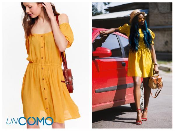 Colores de vestidos para morenas - Vestidos de color amarillo