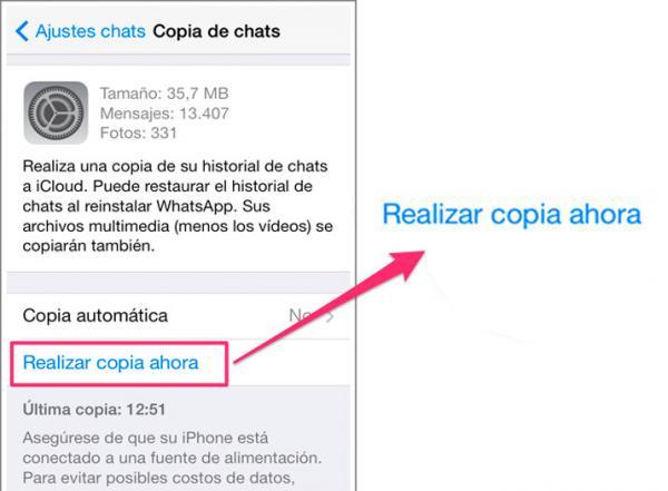 Cómo recuperar fotos borradas de WhatsApp - Recuperar fotos borradas de WhatsApp con una copia de seguridad