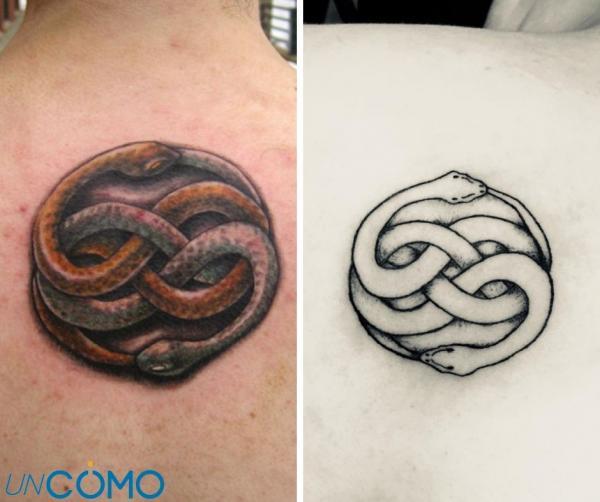 Tatuajes celtas y su significado - Wuivre, otro de los tatuajes celtas más populares