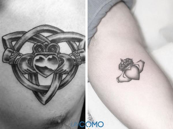 Tatuajes celtas y su significado - El Claddagh