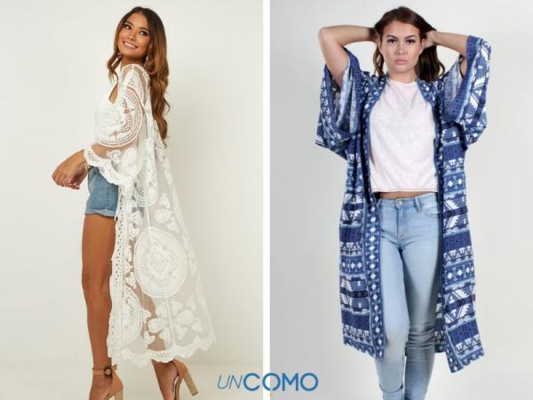 Cómo hacer un kimono - Cómo hacer un kimono largo paso a paso