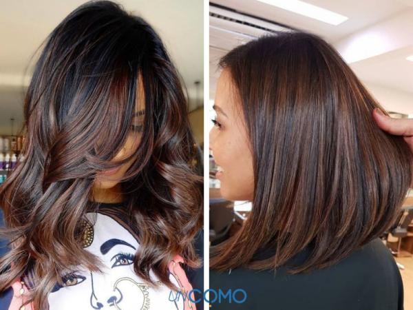 Colores de cabello para piel morena - Tinte color café para morenas