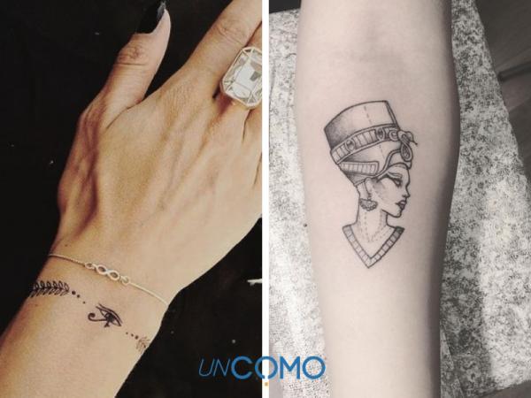 Tatuajes egipcios: significados - Tatuajes de brazaletes egipcios