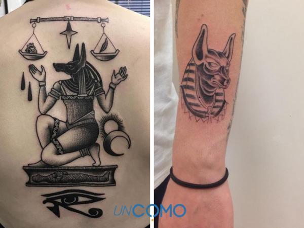 Tatuajes egipcios: significados - Tatuajes egipcios de Anubis: significado