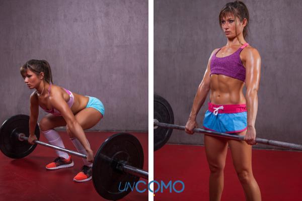 Rutina de ejercicios para aumentar masa muscular en el gimnasio - Ganar masa muscular rápidamente con el peso muerto
