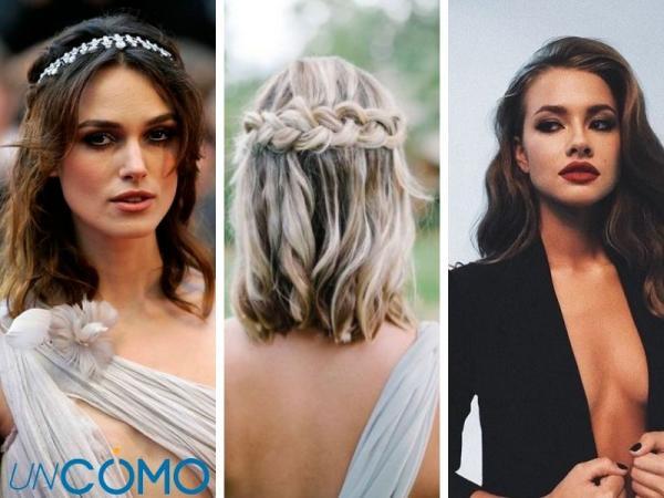 12 peinados para vestidos escotados - Peinados elegantes para vestidos escotados