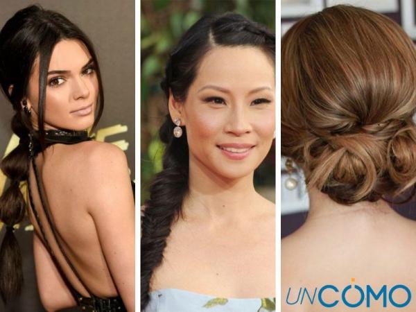 12 peinados para vestidos escotados - Peinados para vestidos escotados de la espalda