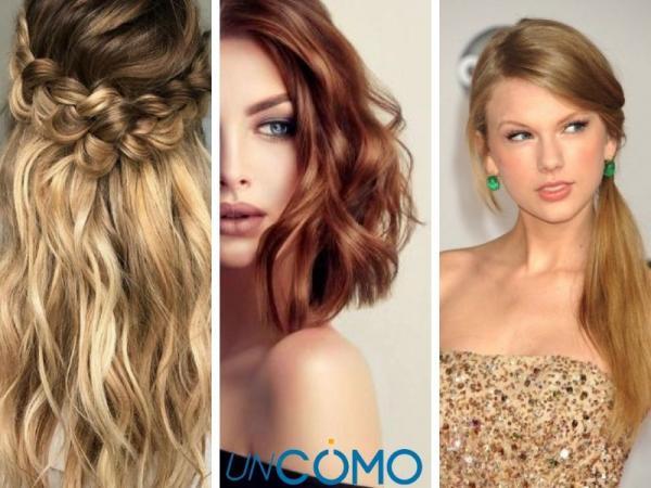 12 peinados para vestidos escotados - Peinados fáciles para vestidos escotados
