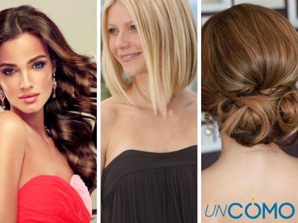 12 peinados para vestidos strapless - Peinados para vestidos strapless cortos