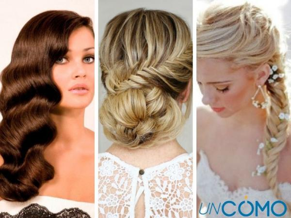 12 peinados para vestidos strapless - Peinados de novia para vestidos strapless