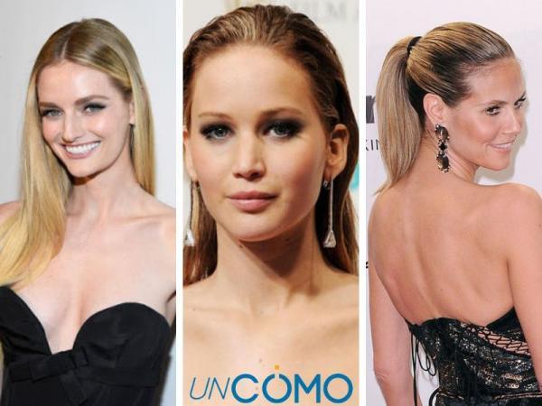 12 peinados para vestidos strapless - Peinados fáciles para vestidos strapless
