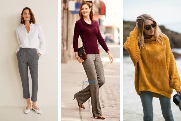 Cómo combinar un pantalón gris - Cómo combinar un pantalón gris oscuro