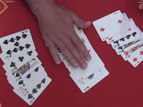 10 Trucos de magia fáciles - El truco de las 21 cartas