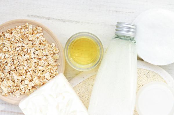 Mascarilla de avena y leche - Mascarilla de avena, leche y miel