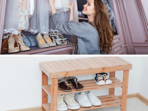 Cómo organizar un armario pequeño con mucha ropa - Cómo ordenar zapatos en armarios pequeños