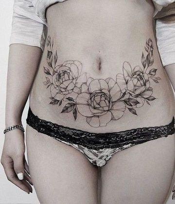 Tatuajes para tapar cicatrices - Tatuajes para tapar cicatrices de cesárea