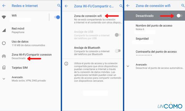 Cómo compartir datos móviles - Cómo compartir datos de un móvil a otro con sistema Android