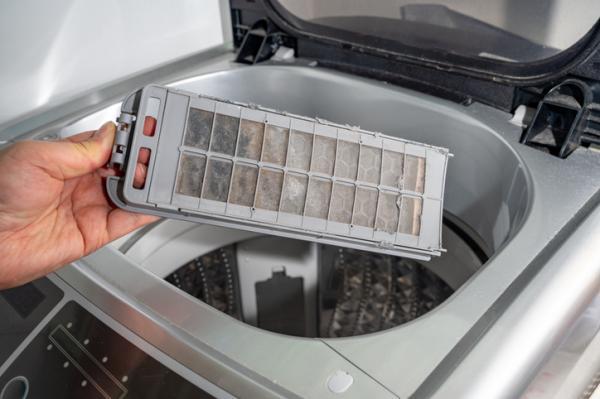 Cómo limpiar la lavadora por dentro - Cómo limpiar el filtro de la lavadora paso a paso