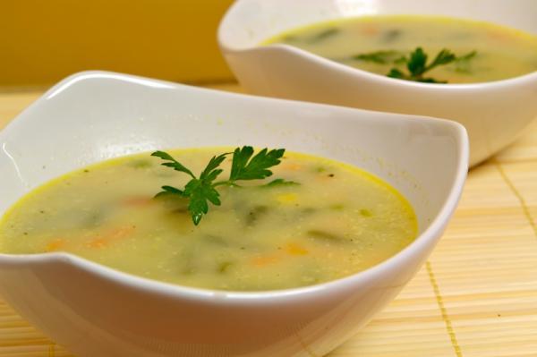 Cómo hacer sopa de verduras para dieta - Cómo hacer la dieta de la sopa de verduras - paso a paso