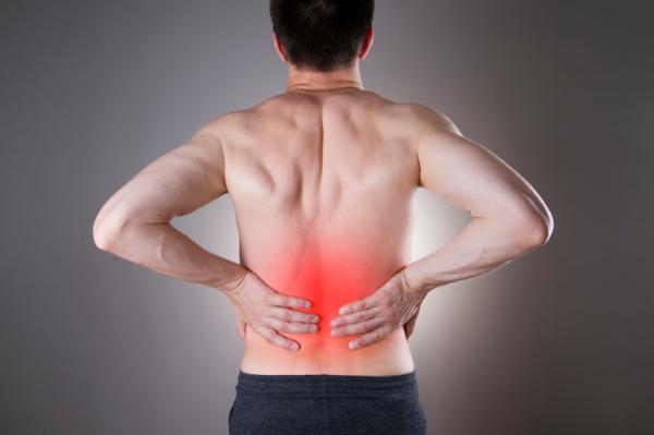 Causas del dolor lumbar izquierdo - Distensión muscular en la parte lumbar izquierda