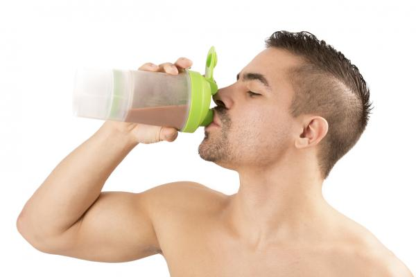 Cómo preparar avena para ganar masa muscular - Batido de avena y chocolote para ganar músculo