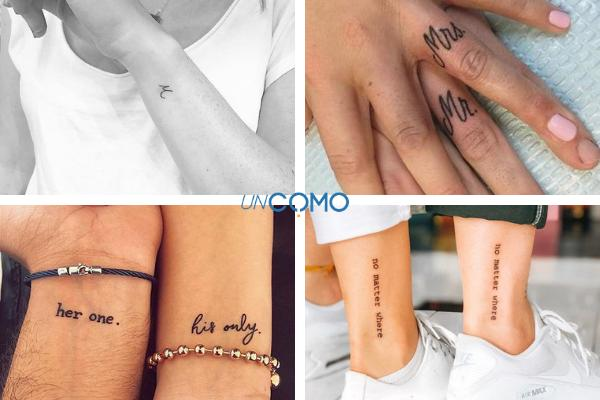 20 tatuajes de amor para parejas - Tatuajes de amor para parejas con frases