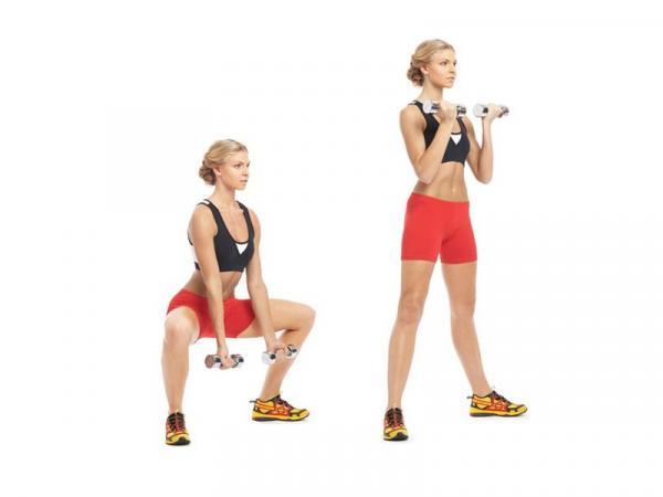 Cómo tonificar los glúteos - Sentadillas sumo o sumo squat