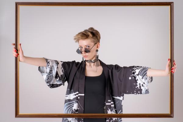 Cómo hacer un kimono - Cómo hacer un kimono DIY - Materiales