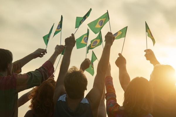 Significado de la bandera y escudo de Brasil - Bandera de Brasil: significado e imagen